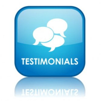 Testimonials for website